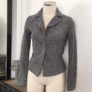 Forever 21 tweed gray jacket blazer XS